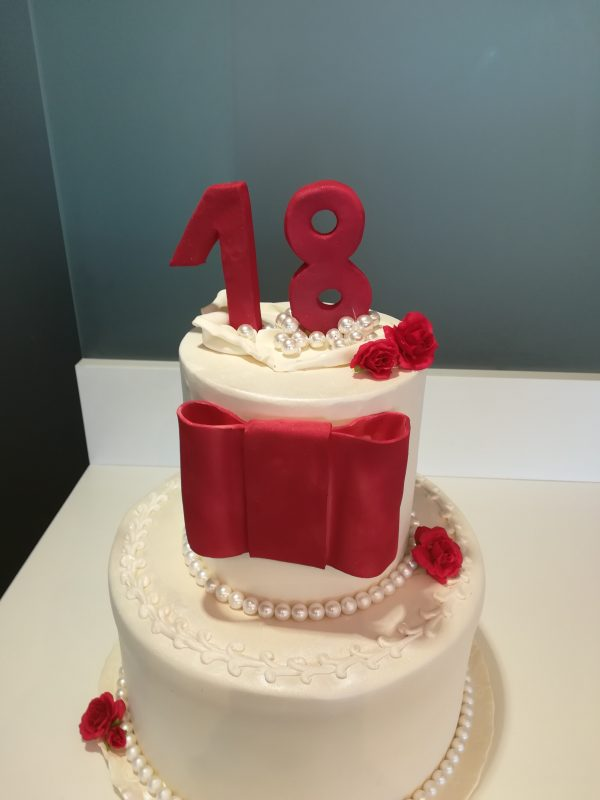 Torta 18°